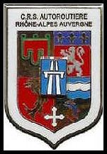 insigne crs autoroutiere rhone alpes auvergne