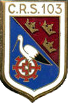 insigne ancienne crs103