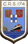 insigne ancienne crs174